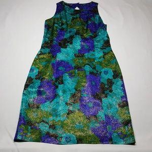 Gillian size 10 100% silk dress